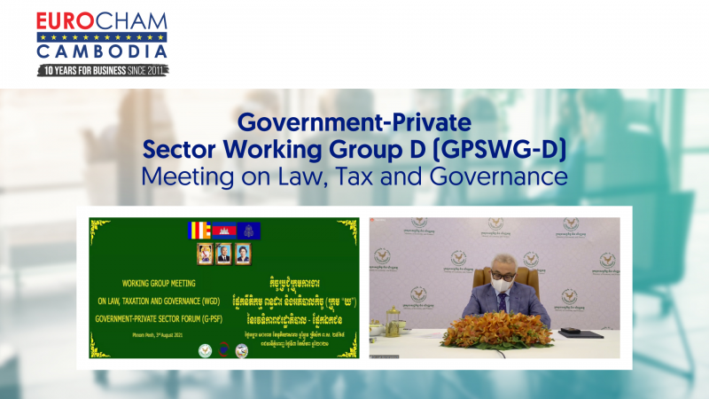 Government-Private Sector Working Group D (GPSWG-D) Meeting on Law, Tax and Governance