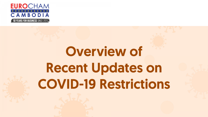 Overview of Recent Updates on COVID-19 Restrictions