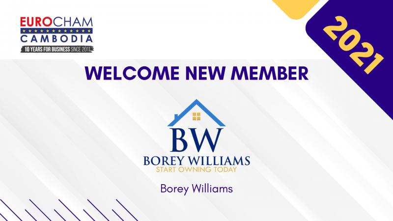NEW MEMBER 2021: Borey Williams