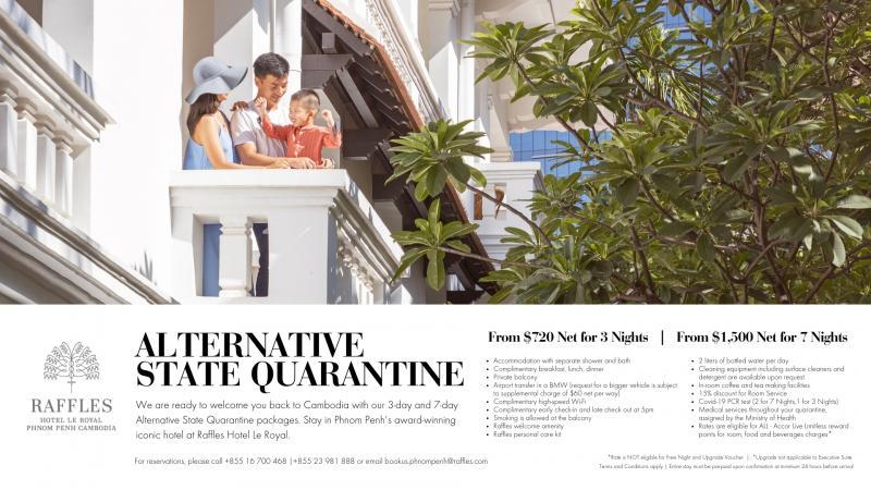 Book Your Luxury Quarantine Stay atRaffles