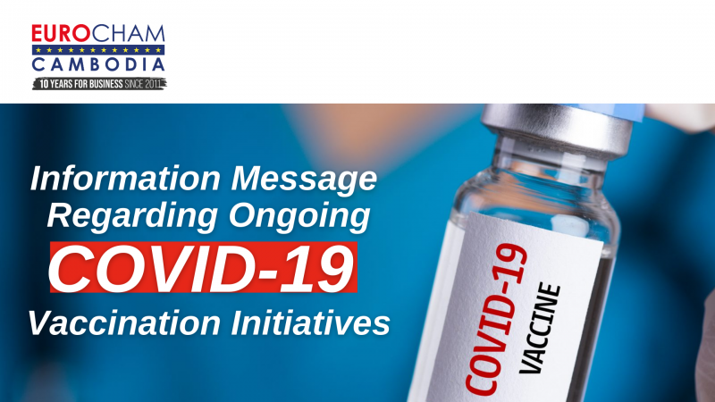 Information Message Regarding Ongoing COVID-19 Vaccination Initiatives