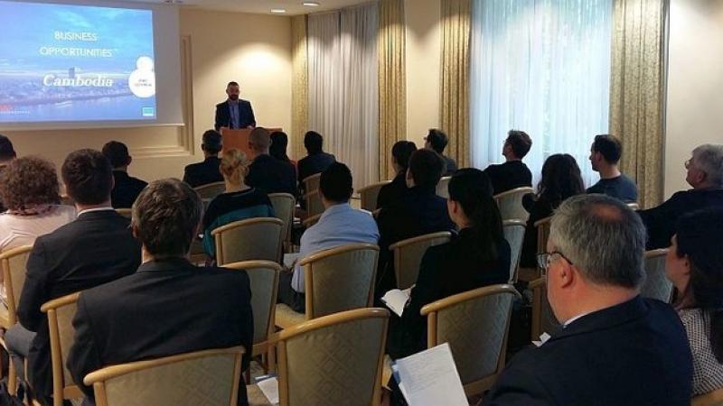 EuroCham Cambodia outreach goes to Slovenia