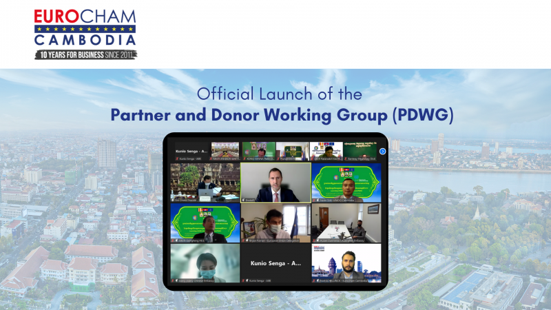 Official Launch of the Partner and Donor Working Group (PDWG)