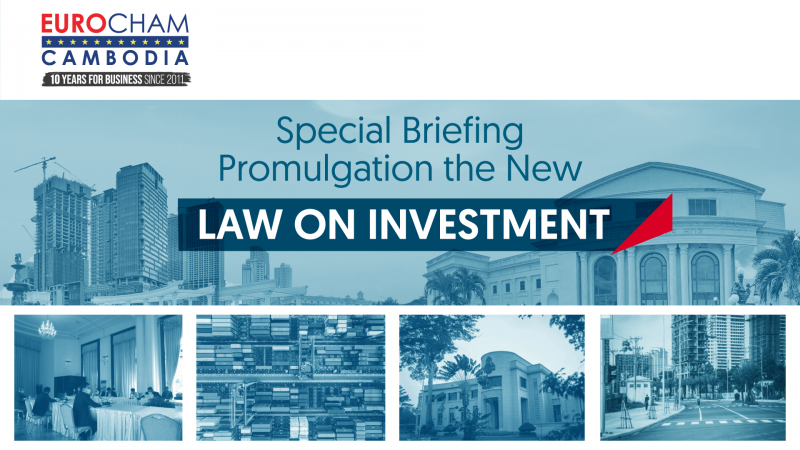 Special Briefing Promulgation of the New Law on Investment,