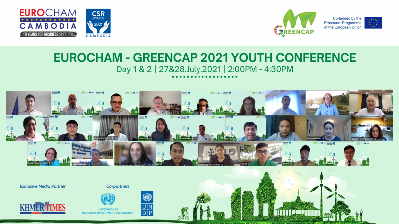 EuroCham-GreenCap 2021 Youth Conference